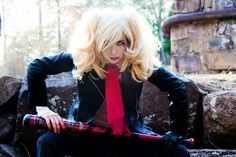 Negan's Harley Quinn  Kitten Mcsquish Cosplay  Photo by Momoclicks