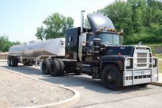 big trucks and girls Old Mack Trucks, Chevy Diesel Trucks, Big Rig Trucks, New Trucks, Custom Trucks, Cool Trucks, Dodge Diesel, Dually Trucks, Powerstroke Diesel