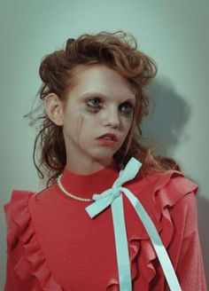"""Molly Bair by Yvan Fabing for """"The Overlook Hotel"""" Garage Magazine Fall/Winter 2016 editorial photography magazine winter 2016 bair Courtney Love, Beauty Photography, Portrait Photography, Fashion Photography, Food Photography, Fall Fashion Outfits, Trendy Fashion, Modest Fashion, Fashion Ideas"""