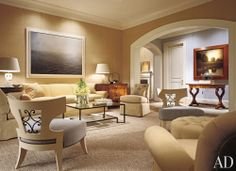 Traditional Living Room by Thomas Pheasant in Bethesda, Maryland