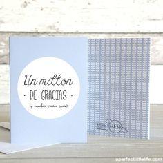 Set 5 tarjetas #decoracion #regalos #tiendaonline #aperfectlittlelife   ☁ ☁ A Perfect Little Life ☁ ☁ para ver más productos nuestros visita nuestra web: http://www.aperfectlittlelife.com/ ☁