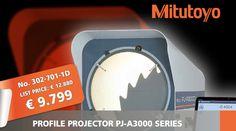 Promoție Mitutoyo – proiectoare de profil seria PJ-A3000 Bat Signal, Control, Superhero Logos, Profile