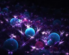 Fractal Spheres --- Light Symphonia 21 by ~love1008 on deviantART