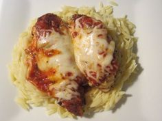 Baked chicken parm!