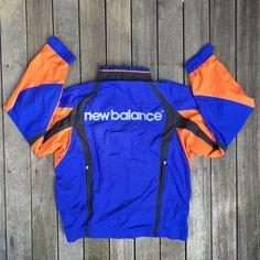 Vintage 90's Windbreaker New Balance New York by THVintageItems