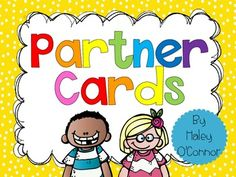 FREE Partner Cards! I use these cards to randomly pair my students! I love it because it's a quick and engaging way for them to find a partner! They LOVE it. Simply pass them out and let them find the person with the matching card. Perfect for any sort of cooperative learning.   There are 30 sets of 2 matching cards...all adorable! Simply print, cut, laminate, and you can use these for years! The pairs include rock stars, super heroes, sports players, trolls, and astronauts!