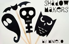 Great kids puppet craft for Halloween. could use to reenact a take home book around Halloween!