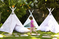 Outdoor playroom, perfect for summer. #summer #play #room