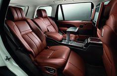 interior of Range Rover Autobiography | Foy's car