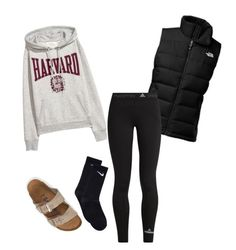 """"""""""" by dancer0202 on Polyvore featuring The North Face, adidas, NIKE and Birkenstock"""