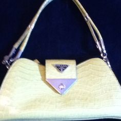 "Green Purse Zip top with zippered pocket inside. 13"" wide, 5.5"" center top to bottom, 3.5"" deep, 12"" strap drop Bags"