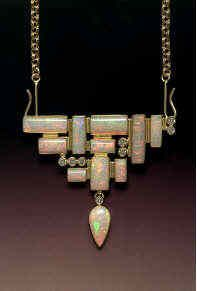 Opal necklace by Beth Rosengard.
