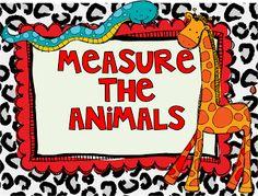 My Silly Firsties: Measurement Freebie