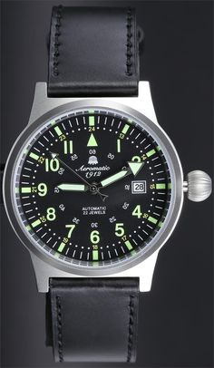 Aeromatic Limited Edition Automatic Steel Watch