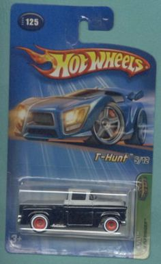 Mattel Hot Wheels 2005 Treasure Hunt 1:64 Scale Black 1956 Flashsider 5/12 Die…