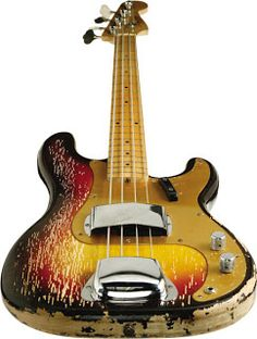 1958 Fender Precision bass was used in early Steely Dan recordings. Walter Becker purchased this bass in 1973. Radio Dupree: November 2007