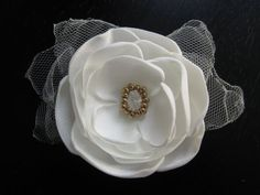 wedding bridal hair clip or comb  Made To by MariaLouiseHightoo