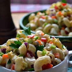 Amish Macaroni Salad - serve it alongside any main dish and you have a complete…