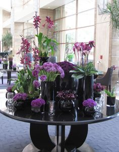 large lobby arrangements | Jin Patisserie at the InterContinental Los Angeles