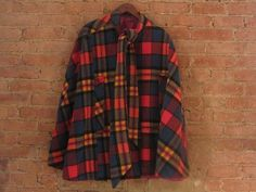 Vintage 1960s Plaid Wool Cape  The Boylston by GildedGypsies
