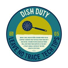 Leave No Trace Tech Tip