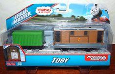 Thomas & Friends Track Master Motorized TOBY New! #FisherPrice