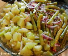 Veganana: Salada de Chuchu com Vagem