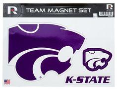 Collegiate Team Magnet Set - Kansas State University