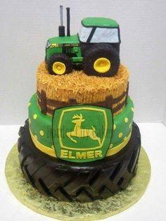 John Deere cake! Love this!!