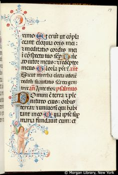 Book of Hours, MS M.80 fol. 19r - Images from Medieval and Renaissance Manuscripts - The Morgan Library & Museum