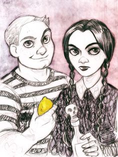 The first of three commissions for as a part of my super-ridiculous-super-kiddie-sale. I can't think of anything relevant to say about The Addams Family movies except that they're perfect. Funny, b...