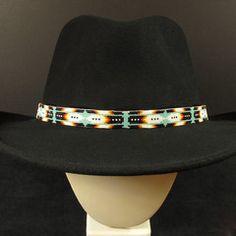 Beaded Hat Bands – Waci -ci Trading Co. Loom Patterns b24bc78ef