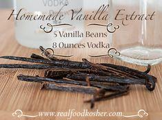Homemade Vanilla Extract | Real Food Kosher /   http://www.realfoodkosher.com/homemade-vanilla-extract/