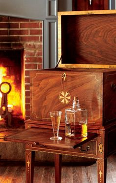 Gorgeous Bar Cabinets From Leake Furniture Makers, Featured In Garden U0026 Gun