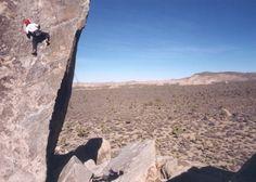"Joshua Tree NP rock climbing on the rock from the ""superman"" movie! Fun climb."