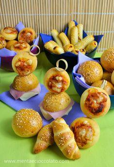 FINGER FOOD un impasto per più formati: pizzette, panini ecc...