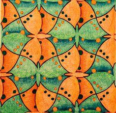 #tessellation #tiling #geometry #symmetry #Escher #Mc_Escher Symmetry nr 012