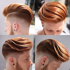 Really cool undercut hairstyle