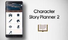 أفضل تطبيق لكتابة الروايات والقصص القصيرة والمسرحيات     تطبيق Character Story Planner 2        تطبيق Character Story Planner 2      تعرف... Smartphone