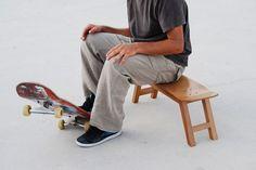 Nollie Flip Stool by Skate Home