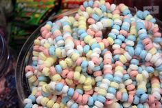 Candy necklaces at Calef's