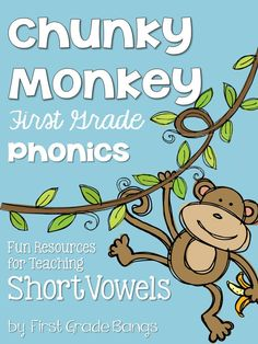 Complete Phonics Unit for Short Vowels! Everything you need to teach your students about short vowels- check it out!