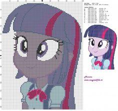 Schema punto croce Twilight Sparkle (Equestria Girls) 100x133 11 colori.jpg (3.86 MB) Mai osservato