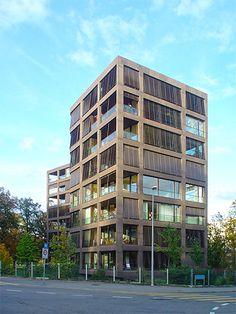 Miller & Maranta - Residential Building Schwarzpark