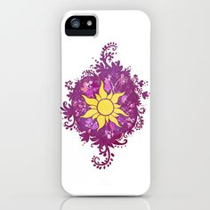 A Tangled Drawing iPhone Case