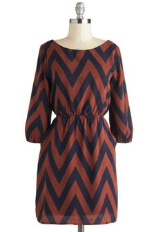 chevron dress. love!