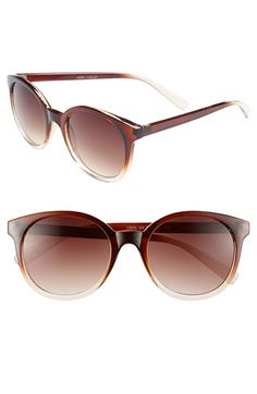 Fantas Eyes Ombré Frame Sunglasses (Juniors) (Online Only) available at #Nordstrom