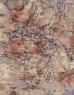 Ooh i like this one too last pin for map fabric i promise timeless treasures world map fabric in tan by the yard gumiabroncs Image collections