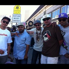 The Boys chilling at the 1st Hiero Day @ericbailey @therealelrock @otayo #shalomlife #2012 #hiphop #hieroday - @shalomcpp- #webstagram