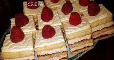 Citromos málnás kockák Eta módra Waffles, Pancakes, Nutella, Tiramisu, Cupcake Cakes, Smoothies, Cheesecake, Muffin, Dessert Recipes